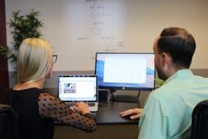 עבודת דיגיטל עם לקוחות
